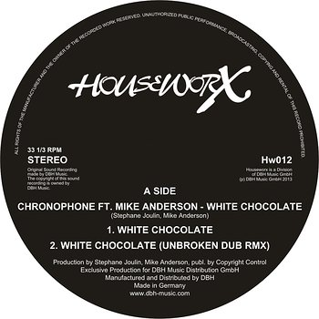 Cover art - Chronophone: White Chocolate (feat. Mike Anderson)