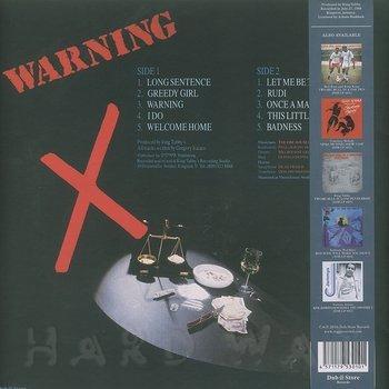 Cover art - Gregory Isaacs: Warning