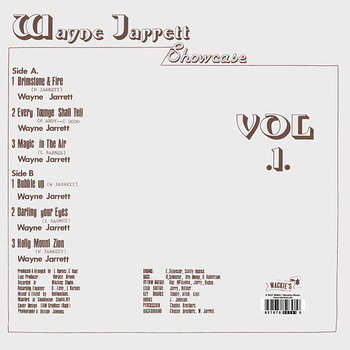 Cover art - Wayne Jarrett: Showcase Vol. 1
