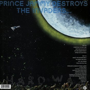 Cover art - Prince Jammy: Destroys The Invaders