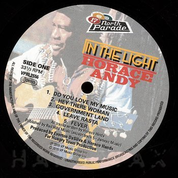 Cover art - Horace Andy: In The Light