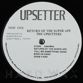 Cover art - The Upsetters: Return Of The Super Ape
