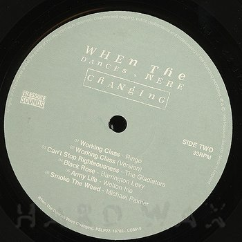 Cover art - Various Artists: When The Dances Were Changing
