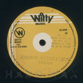 Cover art - Toyan: Irie Feelings