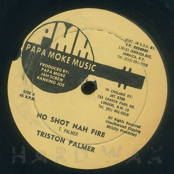 Cover art - Triston Palma: No Shot Nah Fire