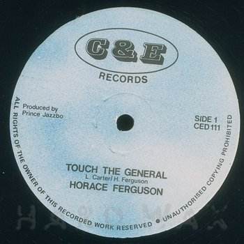 Cover art - Horace Ferguson: Touch The General