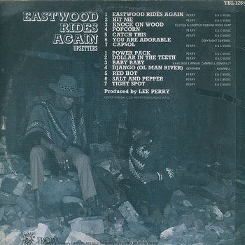 Cover art - The Upsetters: Eastwood Rides Again