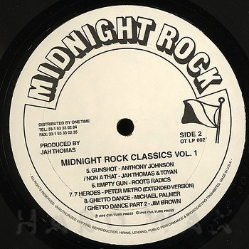 Cover art - Various Artists: Midnight Rock Classics Vol. 1