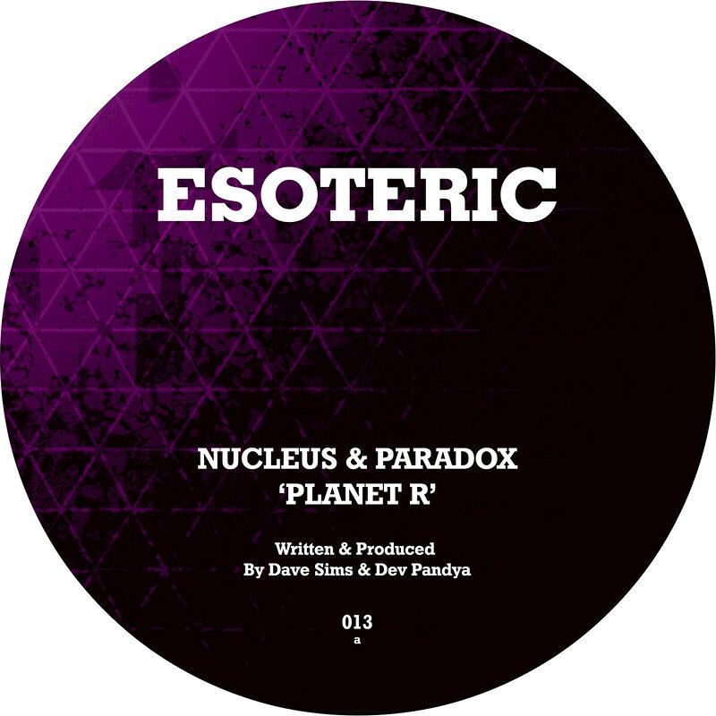 Cover art - Nucleus & Paradox: Planet R