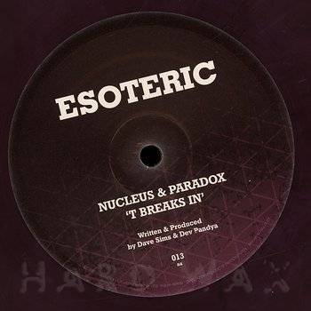 Cover art - Nucleus & Paradox: Planet R
