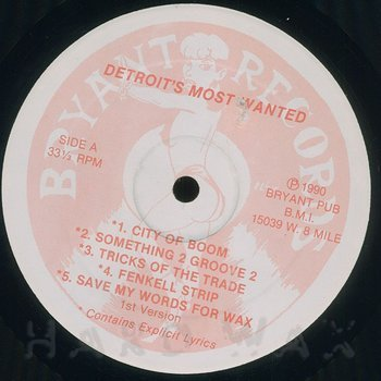 Cover art - Detroit's Most Wanted: Tricks Of The Trades