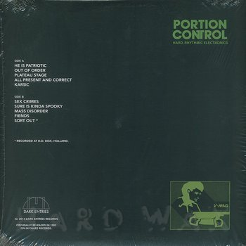 Cover art - Portion Control: I Staggered Mentally