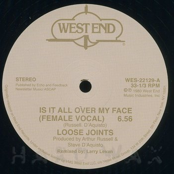 Cover art - Loose Joints: Is It All Over My Face?