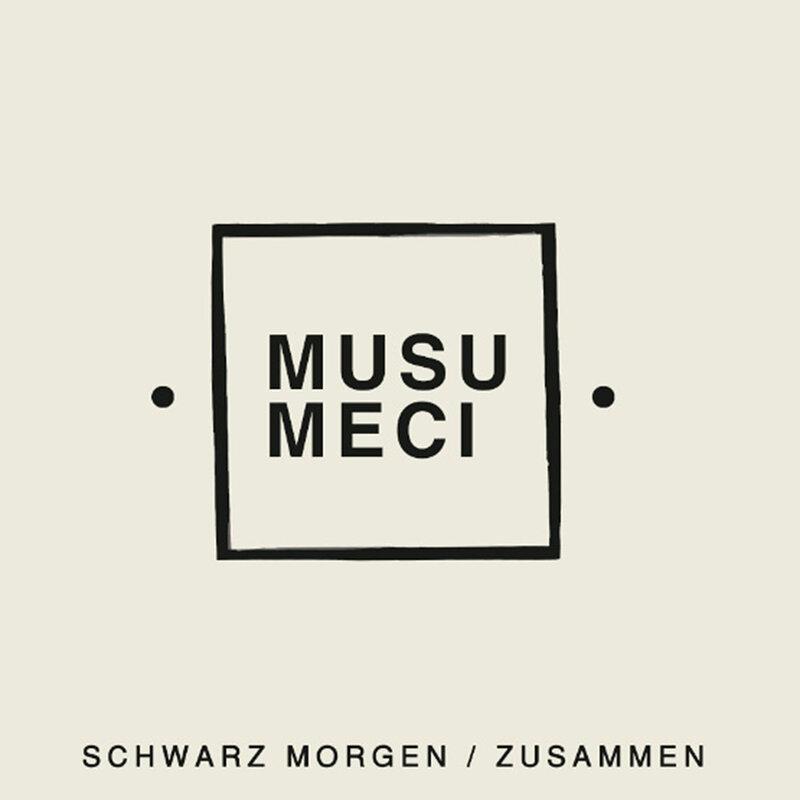 Cover art - Musumeci: Schwarz Morgen / Zusammen