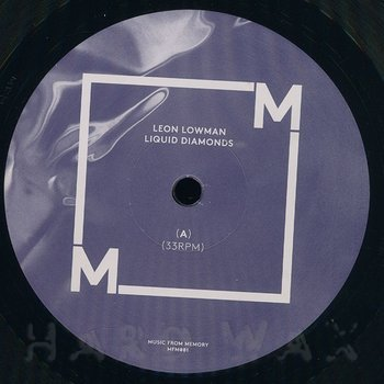 Cover art - Leon Lowman: Liquid Diamonds