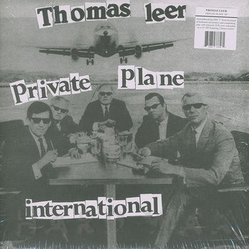 Cover art - Thomas Leer: Private Plane