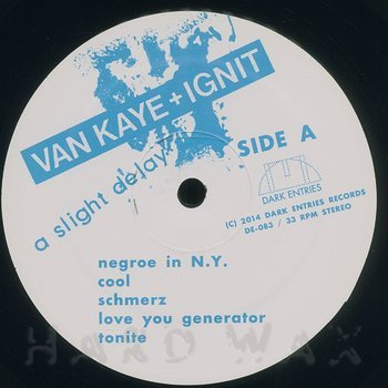 Cover art - Van Kaye & Ignit: A Slight Delay