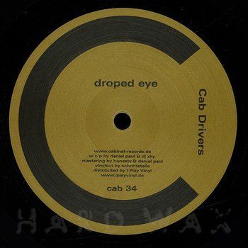 Cover art - Cab Drivers: Droped Eye