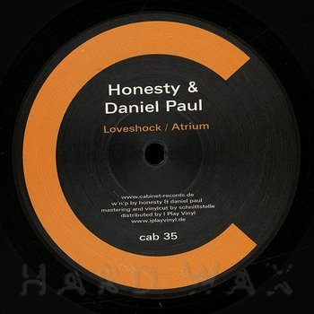 Cover art - Honesty & Daniel Paul: Loveshock / Atrium