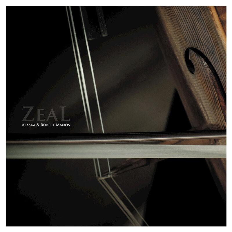 Cover art - Alaska & Robert Manos: Zeal