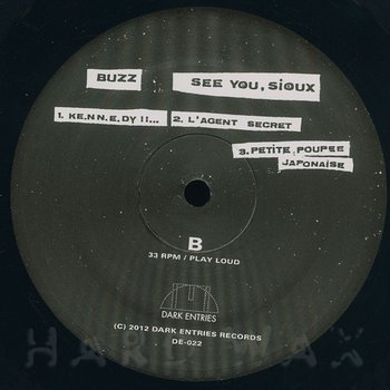 Cover art - Buzz: See You Sioux
