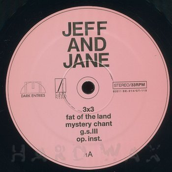 Cover art - Jeff & Jane Hudson: Flesh