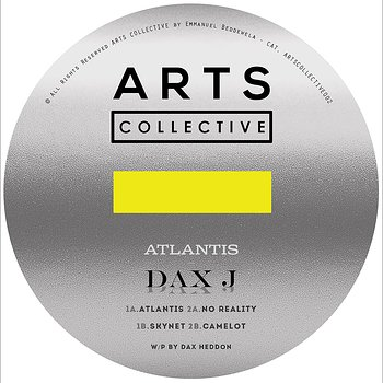 Cover art - Dax J: Atlantis