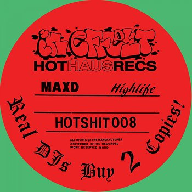 Cover art - Max D: Highlife