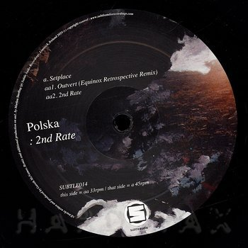 Cover art - Polska: 2nd Rate