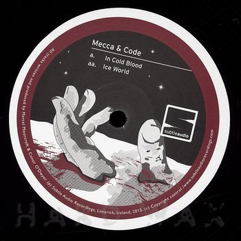 Cover art - Mecca & Code: In Cold Blood