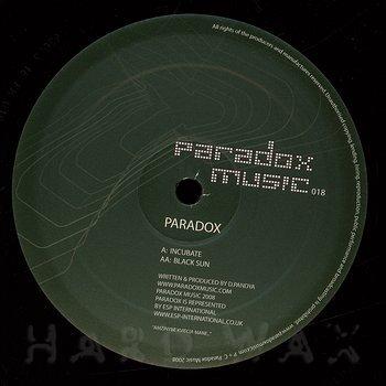 Cover art - Paradox: Incubate