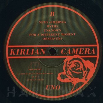 Cover art - Kirlian Camera: Uno