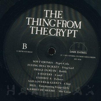 Cover art - Various Artists: The Thing From The Crypt