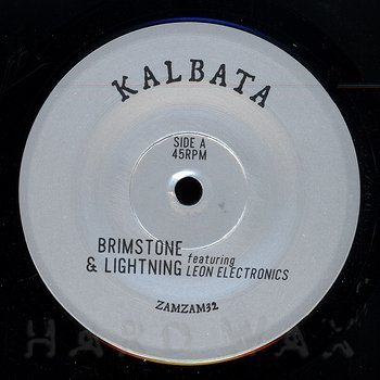 Cover art - Kalbata: Brimstone & Lightning