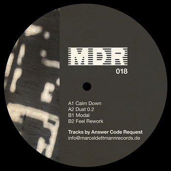 Cover art - Answer Code Request: Calm Down