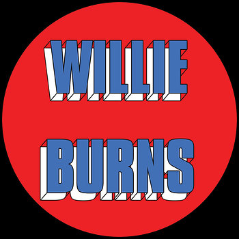 Cover art - Willie Burns: I Wanna Love You