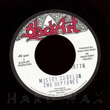 Cover art - The Heptones: Mistry Babylon