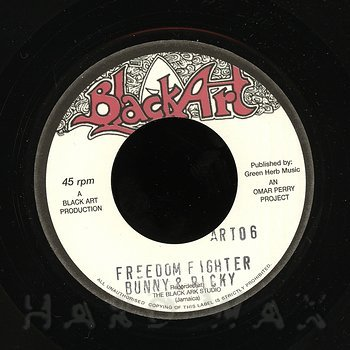 Cover art - Bunny & Ricky: Freedom Fighter