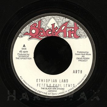 Cover art - Peter & Paul Lewis: Ethiopian Land