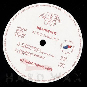 Cover art - Brassfoot: After Dark EP