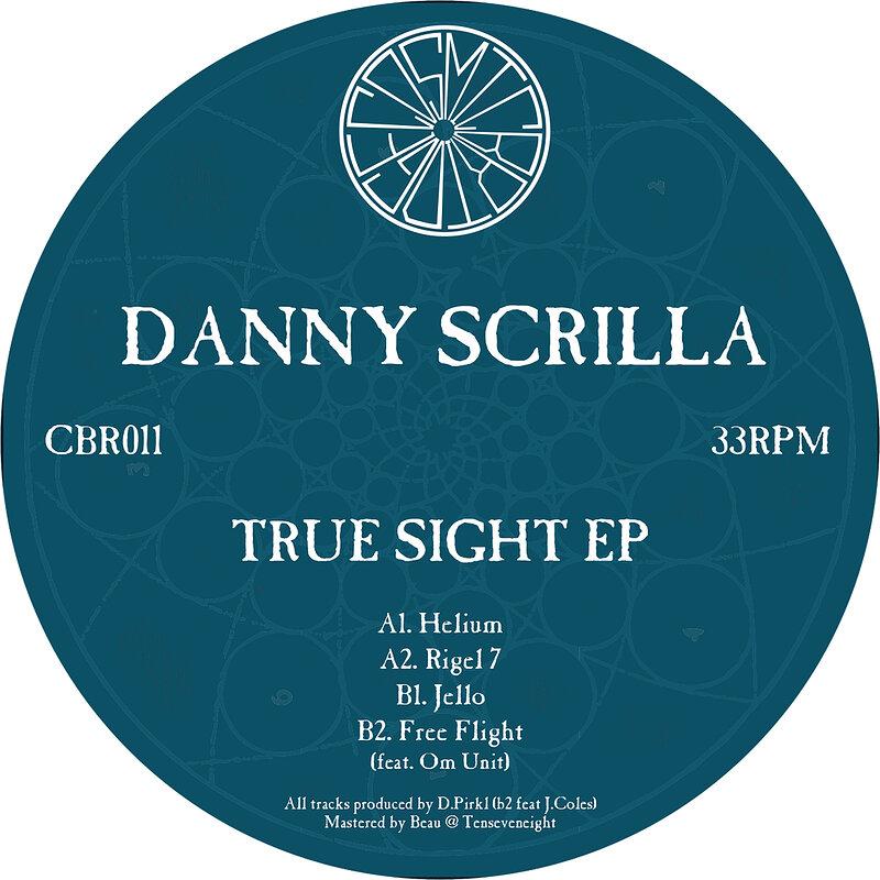 Cover art - Danny Scrilla: True Sight