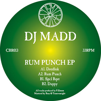 Cover art - DJ Madd: Rum Punch