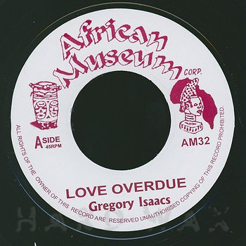 Cover art - Gregory Isaacs: Love Overdue