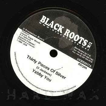 Cover art - Yabby You: Thirty Pieces Of Silver