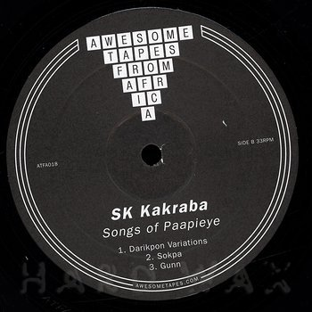 Cover art - S.K. Kakraba: Songs of Paapieye