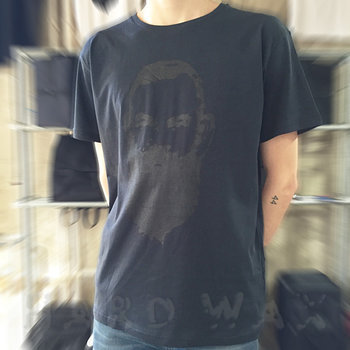 Cover art - T-Shirt, Size L: Workshop 08, dark navy w/ black print