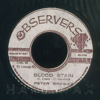 Cover art - Peter Broggs: Blood Stain