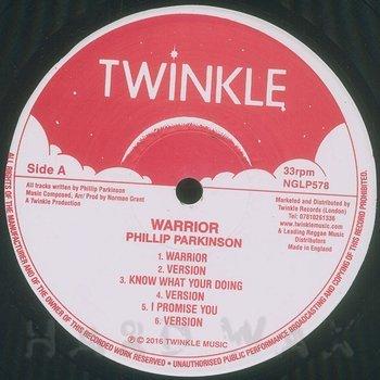 Cover art - Philip Parkinson: Warrior