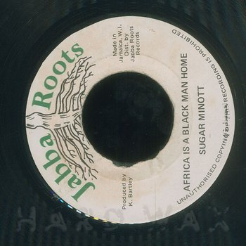 Cover art - Sugar Minott: Africa Is A Black Man Home