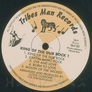 Cover art - Various Artists: King Of The Dub Rock